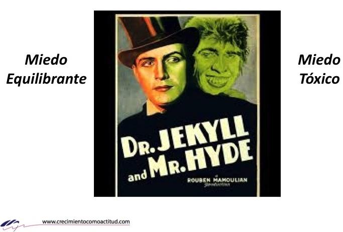 Miedo equilibrante y Miedo tóxico – Dr. Jekyll y Mr Hyde ¿Cuál domina tu vida?