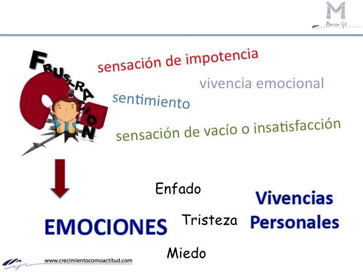 ¿Para ti es importante aprender sobre la frustración y conseguir que no te dirijan las emociones?