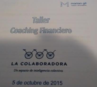 Segunda parte Taller de Coaching Financiero. Tu juego Exterior