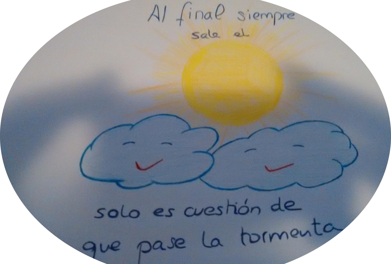 Al final siempre sale el sol, solo es cuestión que pase la tormenta