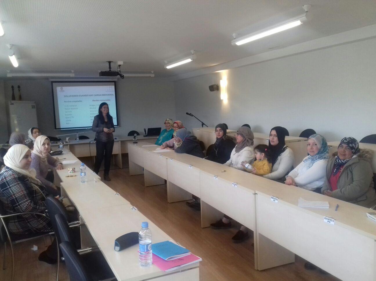 Una gran experiencia con mujeres inmigrantes el Día Internacional de la Mujer