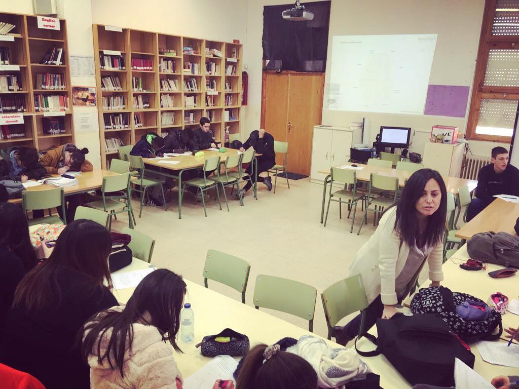 Jornadas de Coaching para jóvenes en el IES de Binéfar (Huesca)