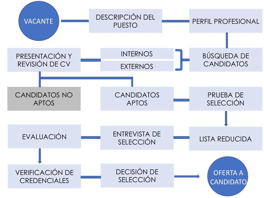 Proceso de selección Marian Gil